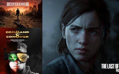 Release Talk #1: TLOU 2, C&C Remastered, Desperados 3 und mehr – Welche Games erscheinen im Juni 2020?