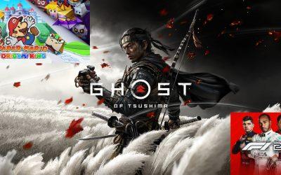Release Talk #2: Ghost of Tsushima, F1 2020, Paper Mario: The Origami King und mehr – Welche Games erscheinen im Juli 2020?
