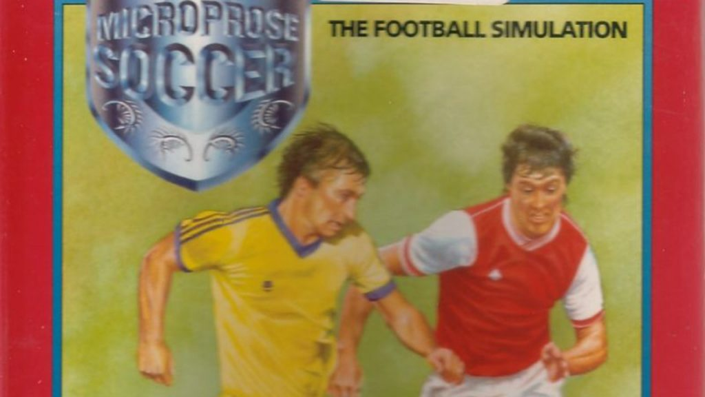 C64-Cover von Microprose Soccer