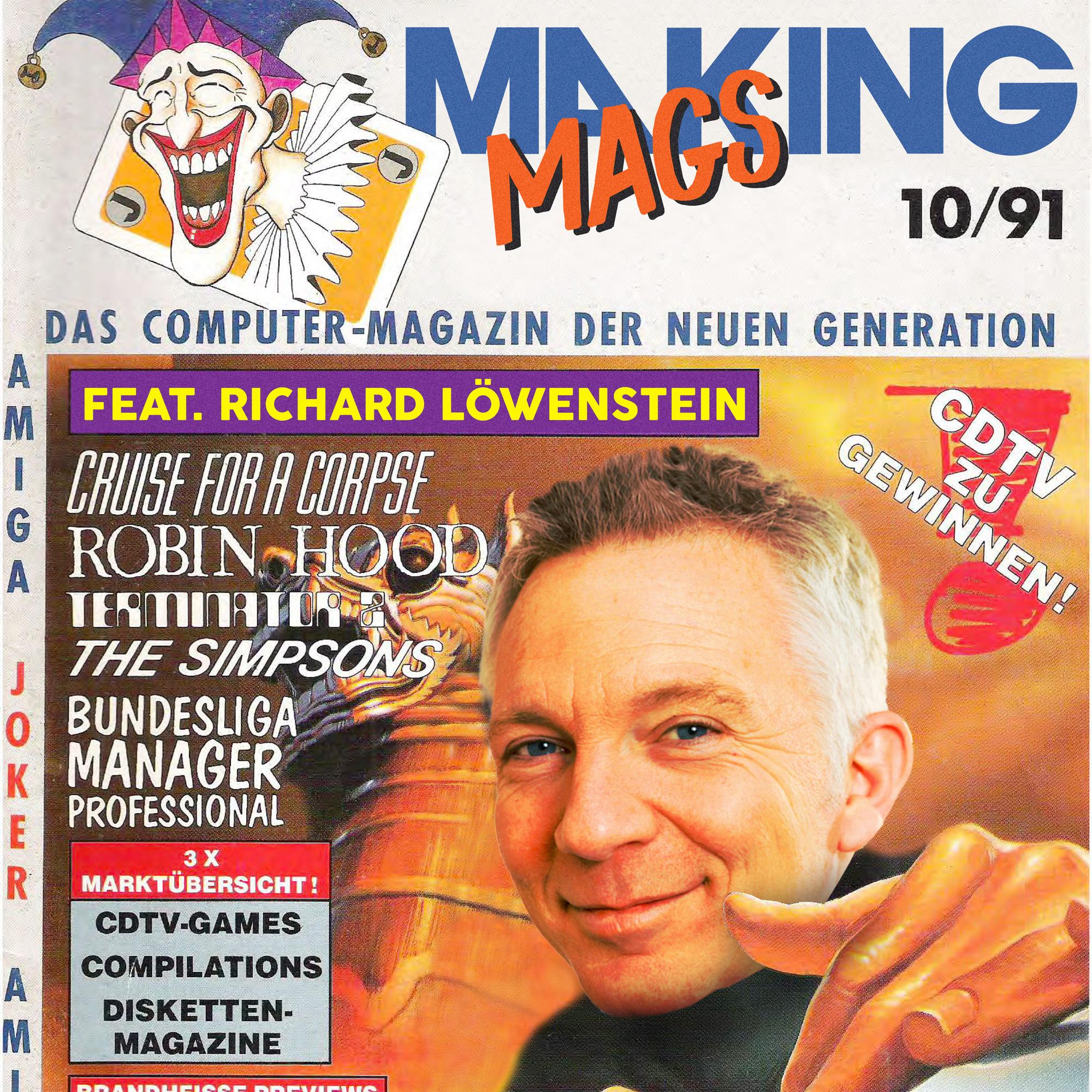 Richard Löwenstein war langjähriger Chefredakteur des Amiga Joker.