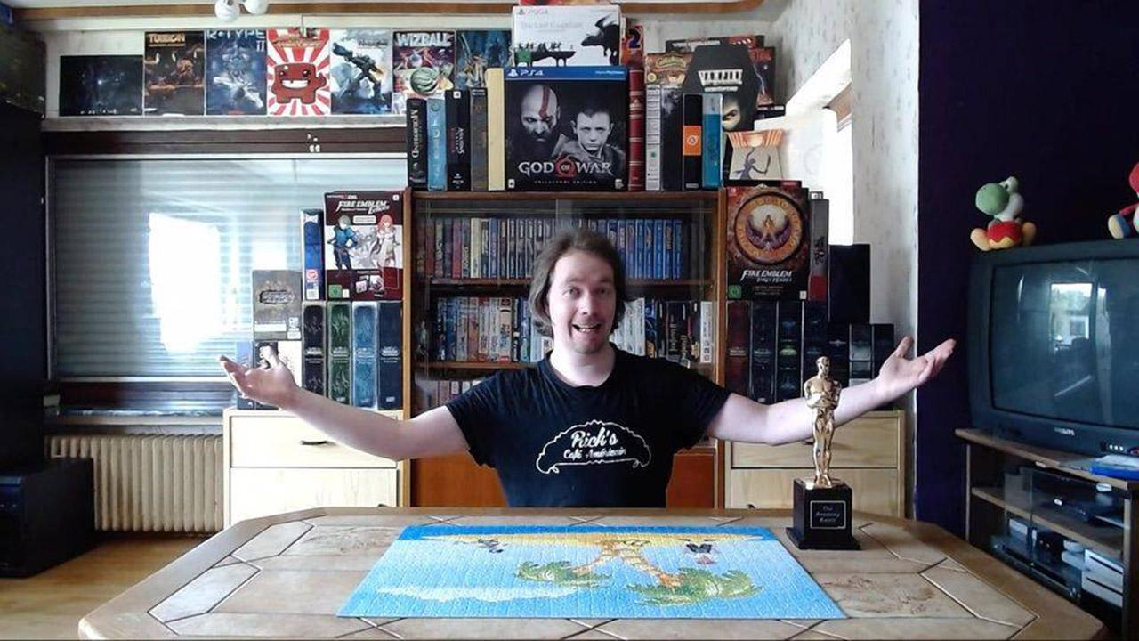 Games-Insider-Neuzugang Andreas Altenheimer hat eine imposante Spielesammlung.