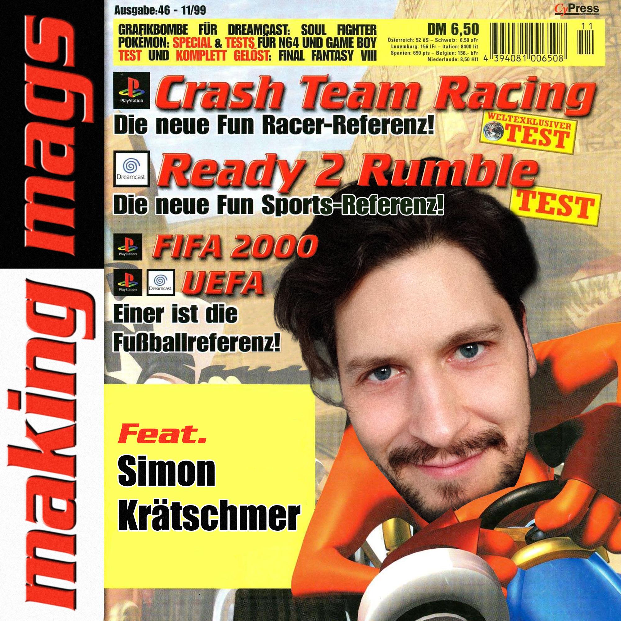 Simon Krätschmer prägte die letzte Phase der Fun Generation maßgeblich mit.