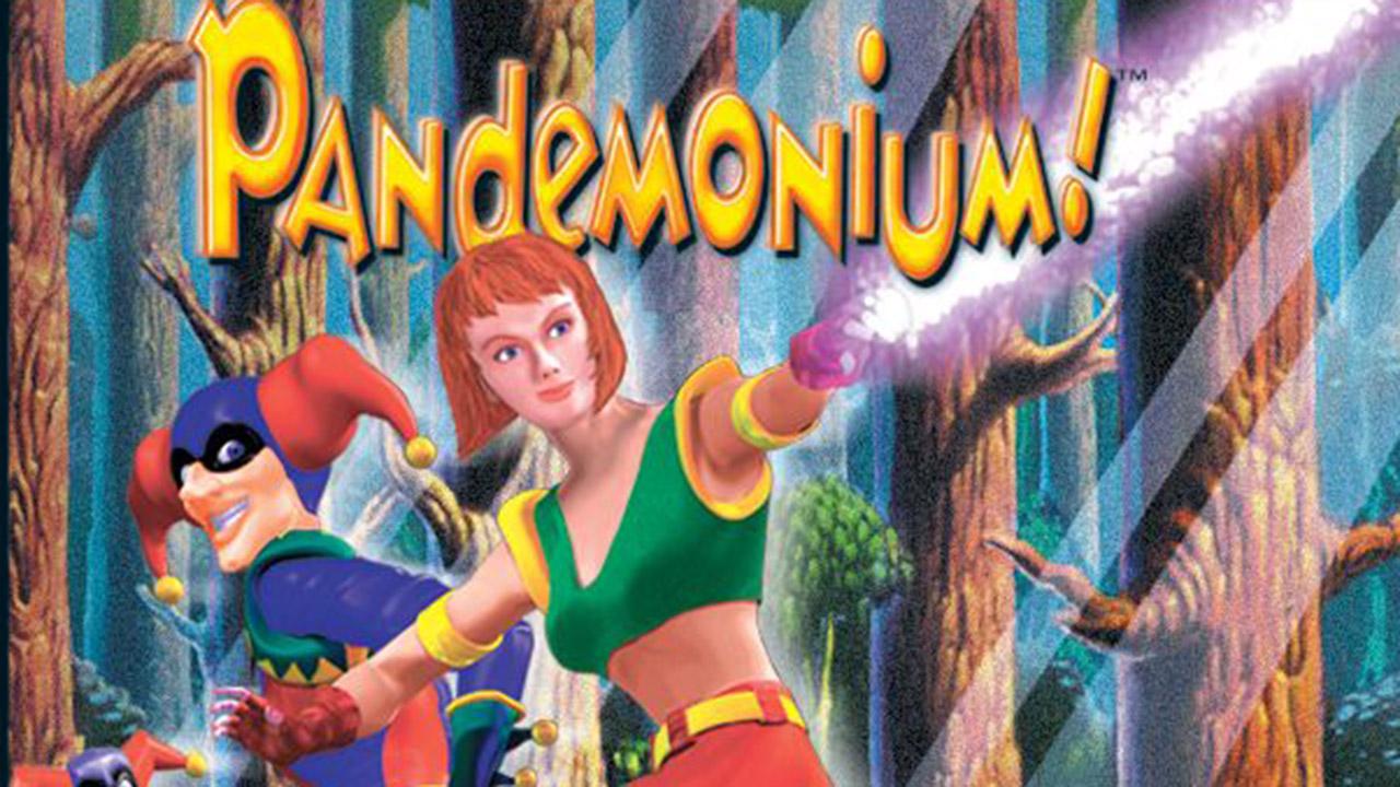 Der Jump'n'Run-Hit Pandemonium! für die erste PlayStation.