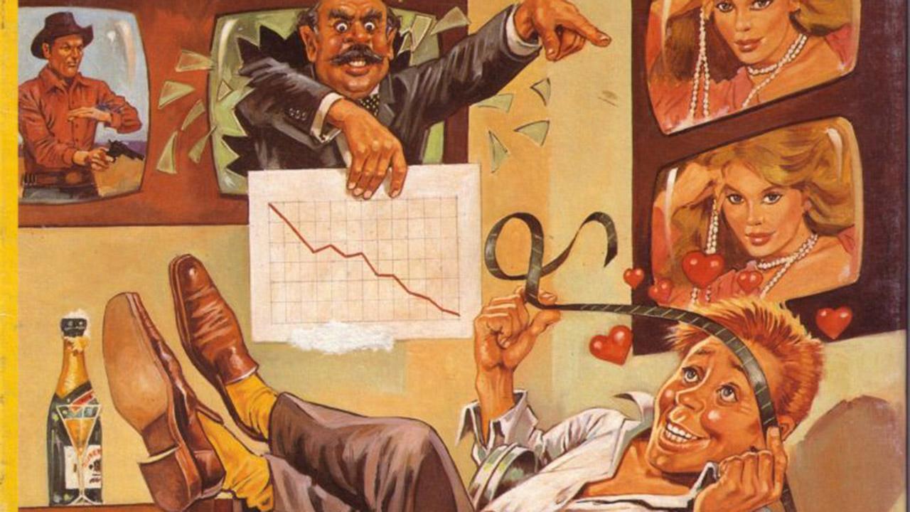 Die deutsche Wirtschaftssimulation Mad TV von 1991.