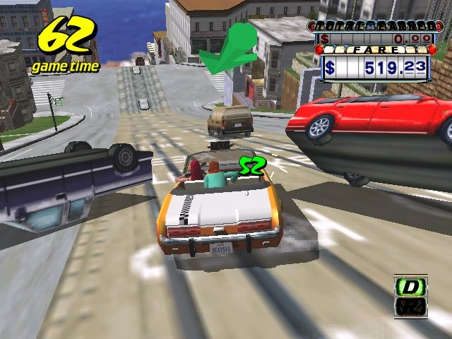 Crazy Taxi für Sega Dreamcast.