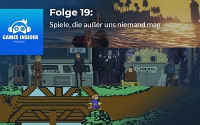 Folge 19: Spiele, die außer uns niemand mag