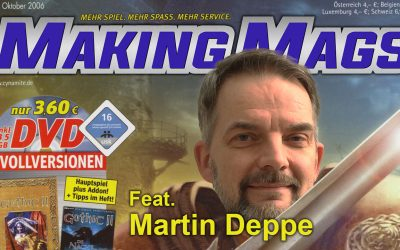 Making Mags #7: PC PowerPlay (feat. Martin Deppe)