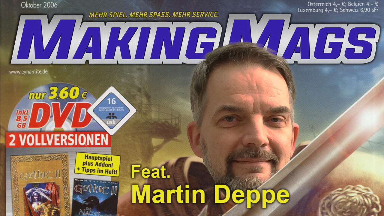 Martin Deppe war Chefredakteur der PC PowerPlay.