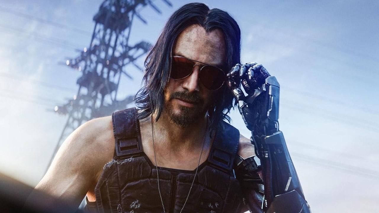 Keanu Reeves und der Hype um Cyperpunk 2077.