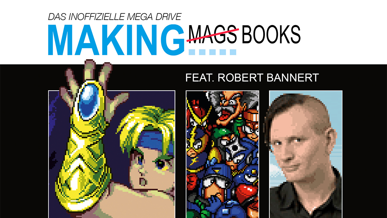 Das inoffizielle Mega Drive Pixelbuch.