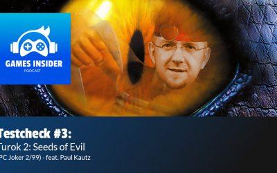 Testcheck #3: Turok 2: Seeds of Evil (PC Joker 2/99) – feat. Paul Kautz (Schnupperfolge)