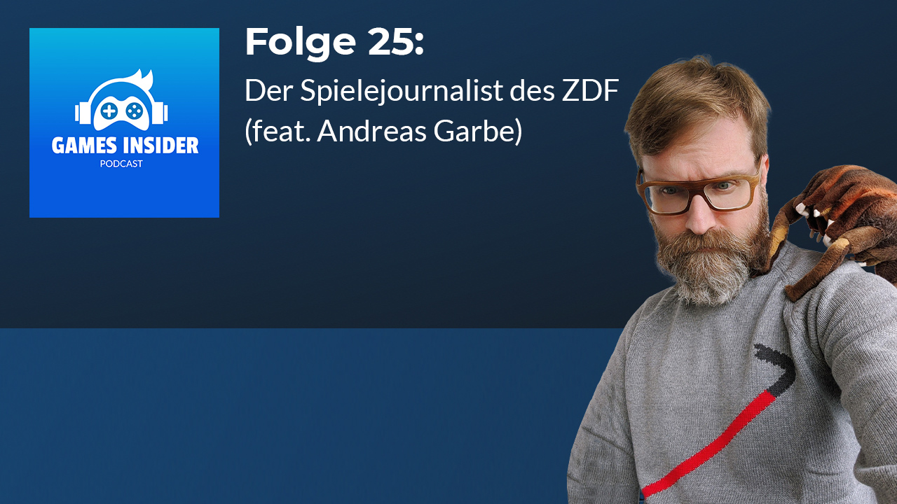 Andreas Garbe arbeitet seit 2007 als Spielexperte fürs ZDF.