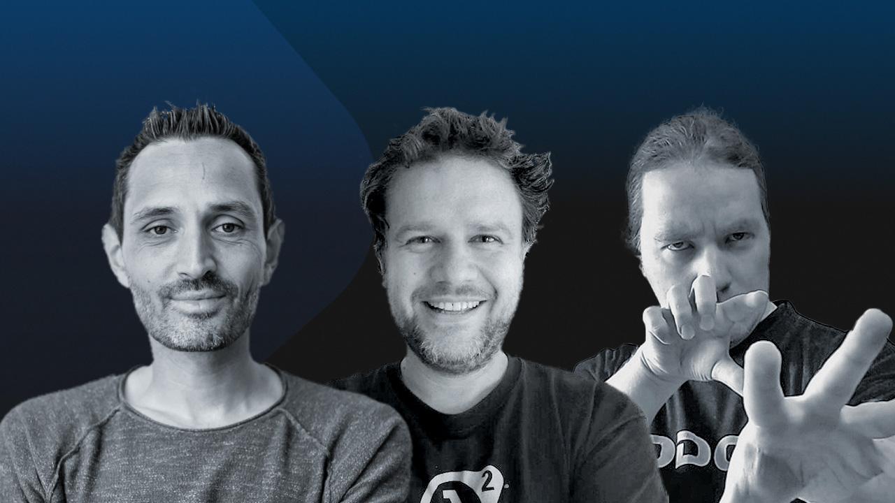 Das Team von Games Insider: Benedikt, Sönke und Andy.