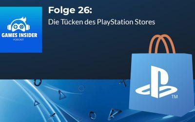 Folge 26: Die Tücken des PlayStation Stores