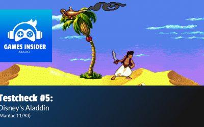 Testcheck #5: Disney's Aladdin (Man!ac 11/93)