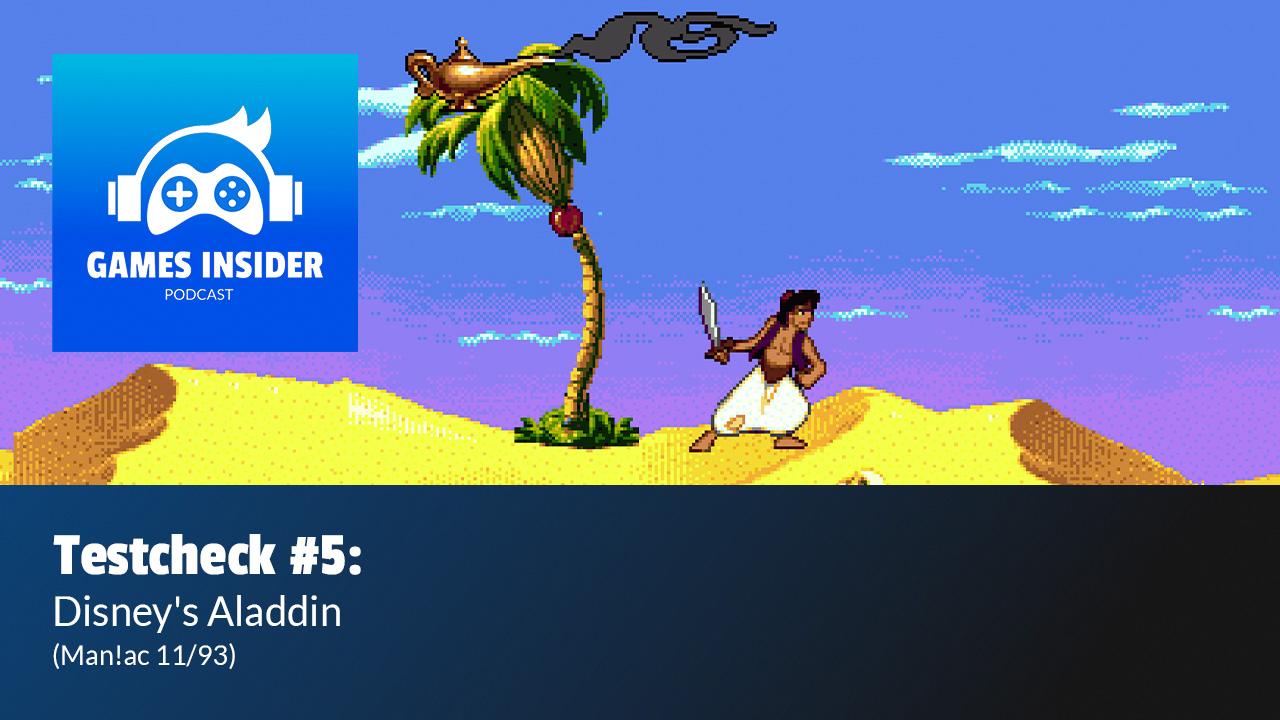 Disney's Aladdin wurde in Man!ac 11/93 getestet.