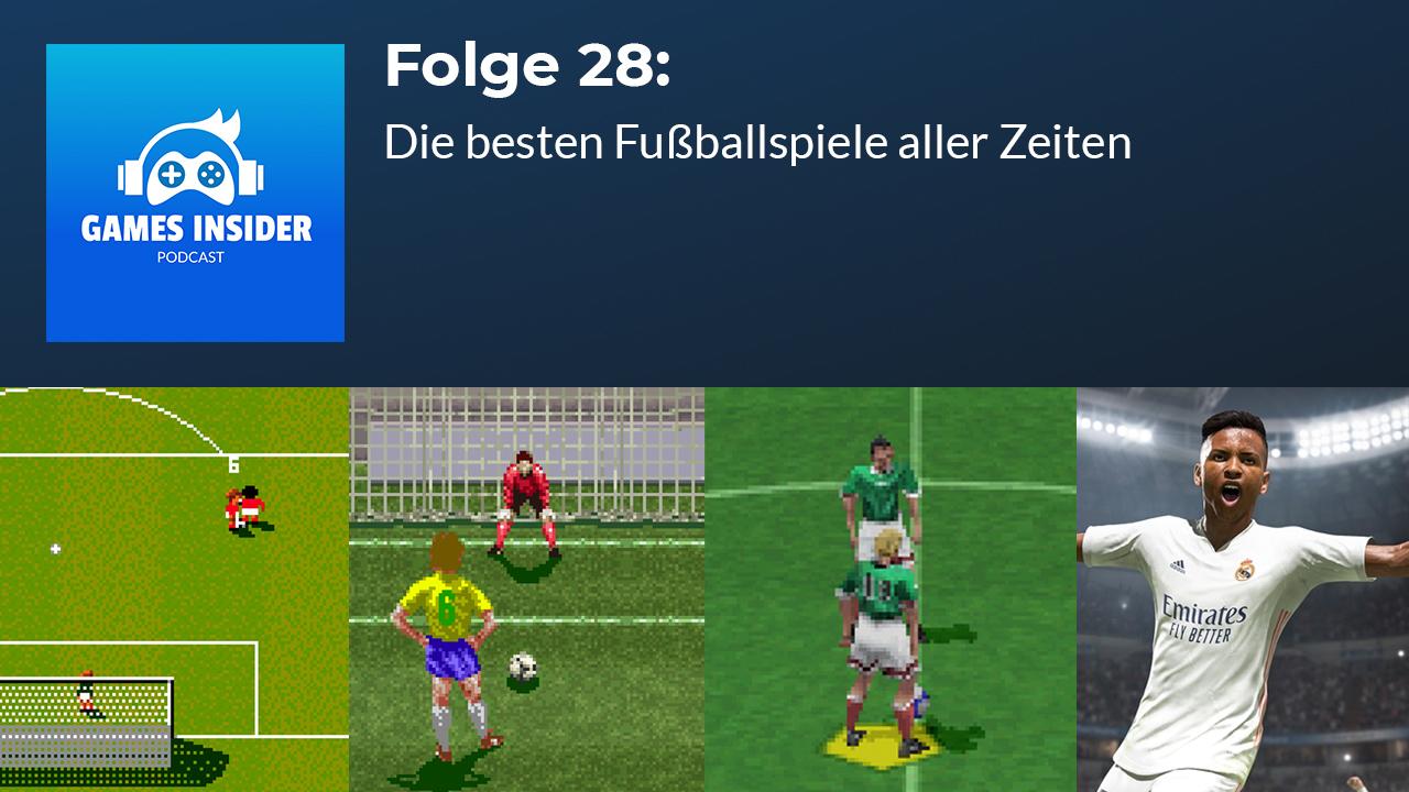 Von Sensible Soccer über PES bis FIFA: Wir sprechen über die besten Fußball-Games aller Zeiten!