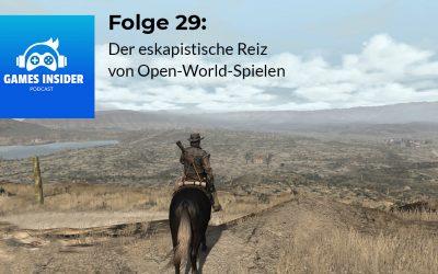 Folge 29: Der eskapistische Reiz von Open-World-Spielen