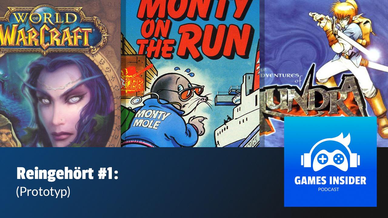 """In der ersten Folge von """"Reingehört"""" stellen wir folgende Stücke vor: Das Hauptthema aus Monty on the Run, Song of Elune aus World of Warcraft und The Village of Inoa aus The Adventures of Alundra."""