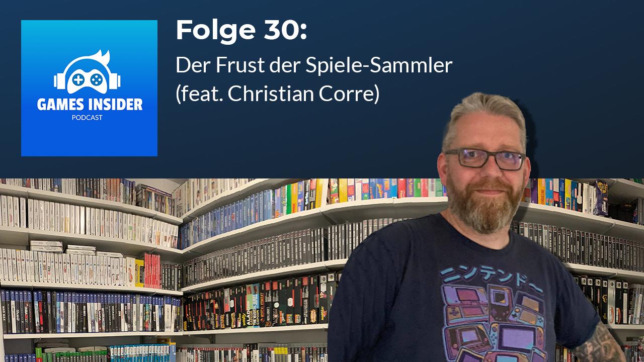 Christian Corre ist Mitgrüber von Retroplace und begeisterter Spielesammler.