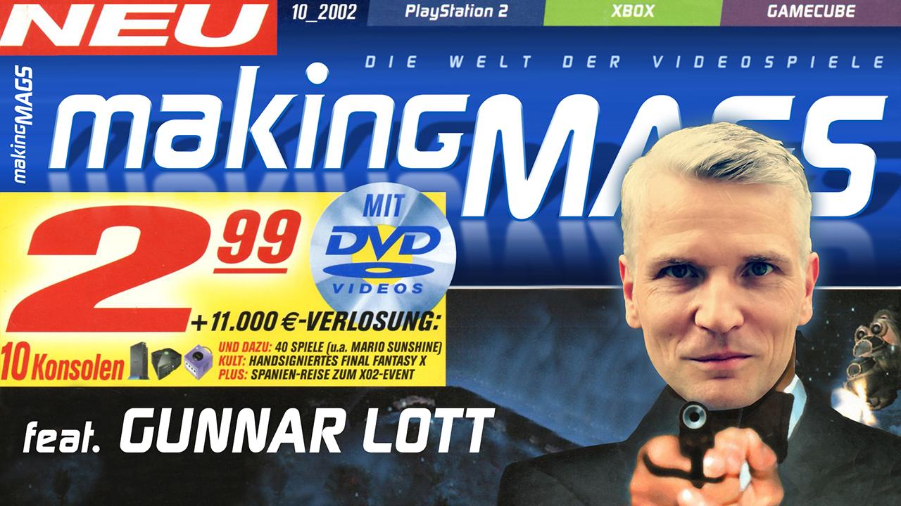 Gunnar Lott ist Mitgründer und erster Chefredakteur der GamePro.