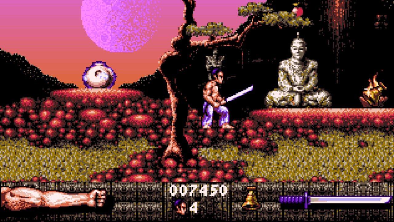 Screenshot von First Samurai für den Amiga.
